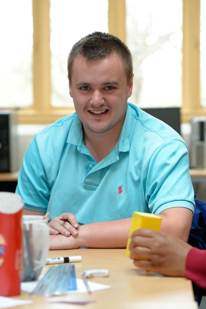 Maths student at Greenbank College