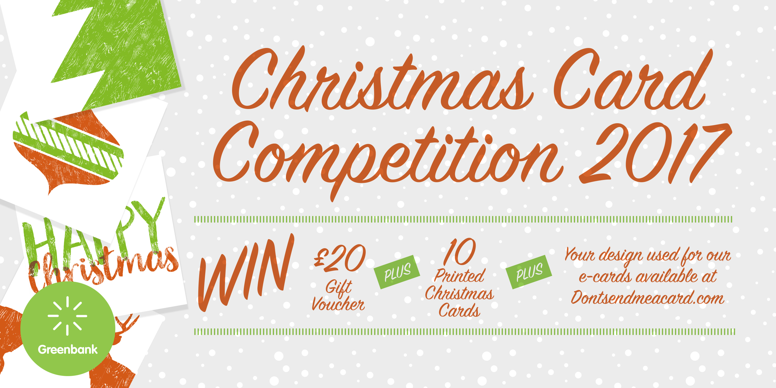 Delightful Enter Our Competition To Design A Christmas Card For Greenbank
